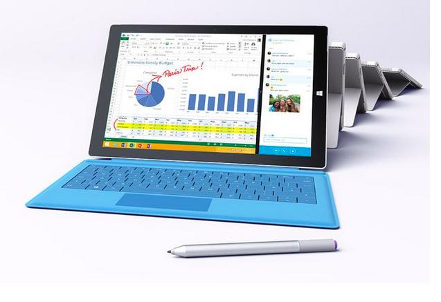 Microsoft пусна нов Surface Pro 3 с i7 процесор