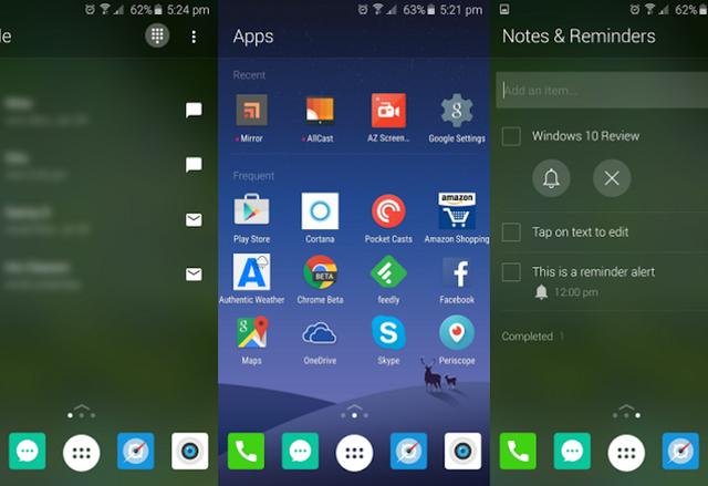 Microsoft работи по собствен Android лаунчър