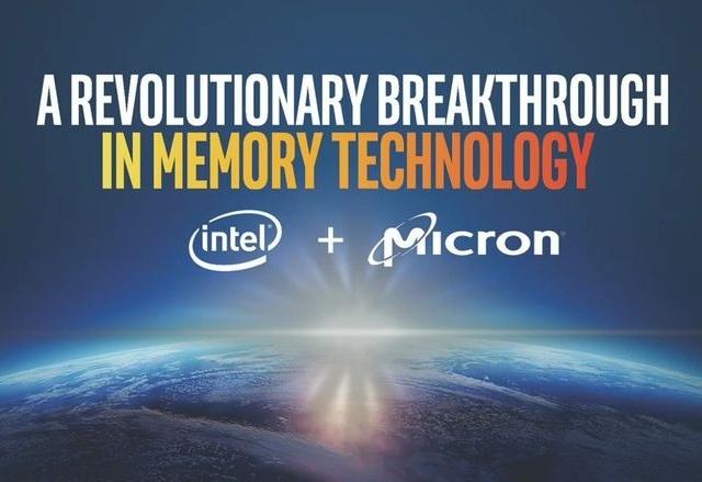 Революцията на Intel и Micron при технологията на паметите идва с 3D Xpoint