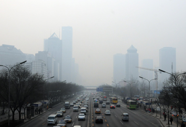 Китай въвежда нов закон за замърсяването на въздуха