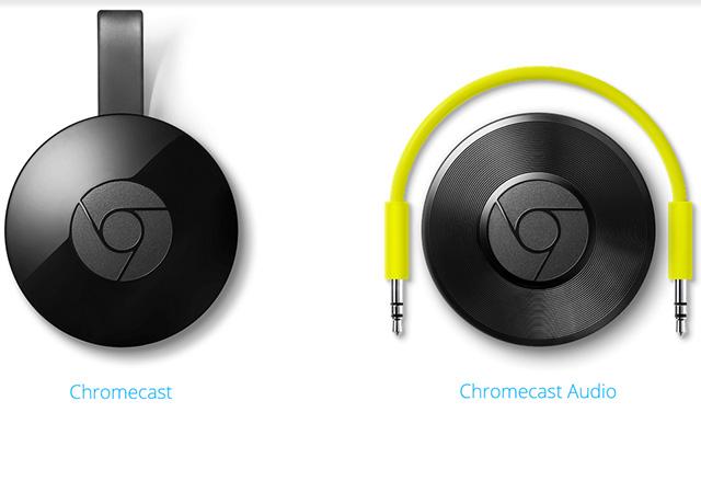 Google представи Chromecast 2 и Chromecast Audio