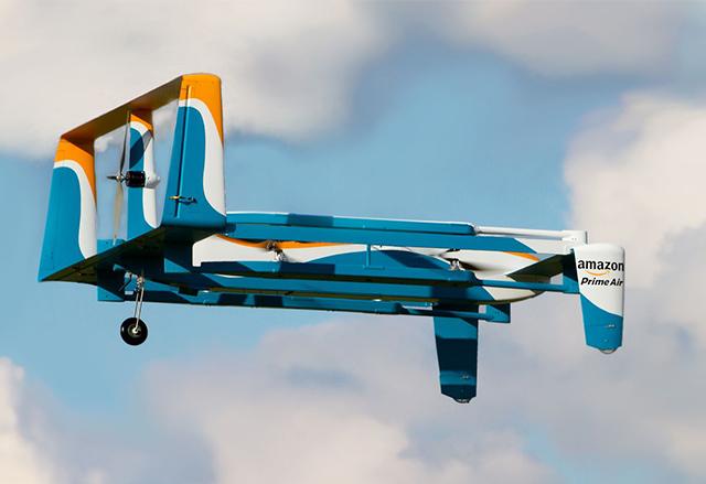 Услугата Amazon Prime Air с ново видео и нов дизайн на дрона за доставки