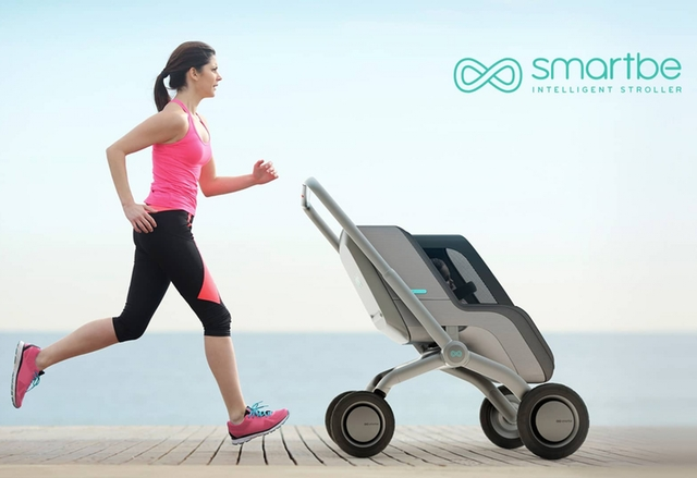Smartbe е самоуправляваща се бебешка количка