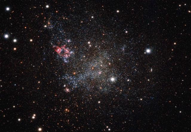 Откриха удивително чиста галактика, недалеч от Млечния път