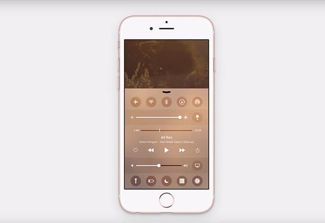 Концепция на iOS 10 показва подобрен център за управление с поддръжка на 3D Touch