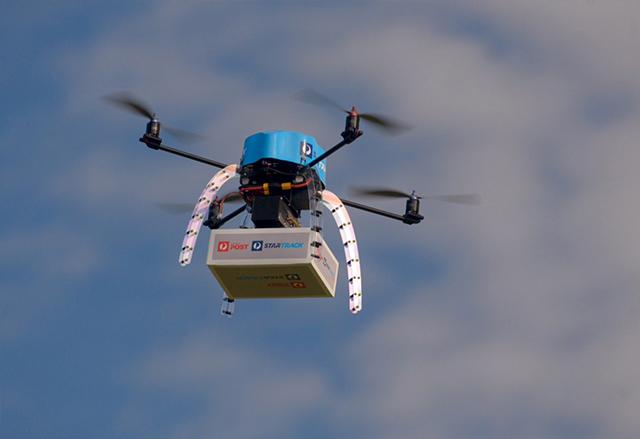 Australia Post провежда успешни полеви тестове на система за доставки с безпилотни дронове