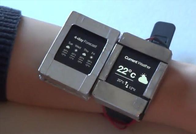 Doppio е нова концепция за умен часовник с двоен екран