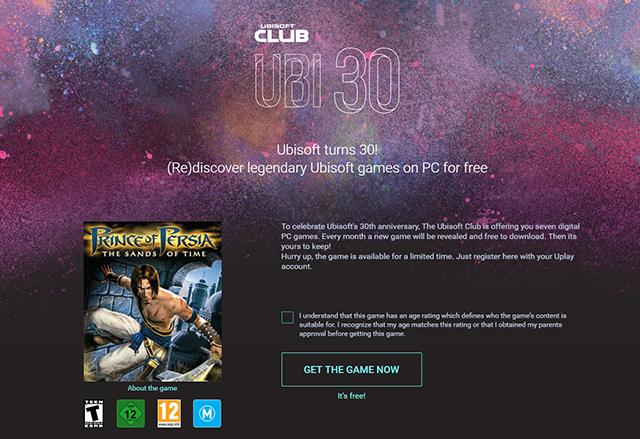 Ubisoft на 30: