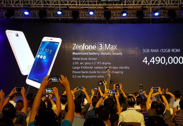 Asus показа Zenfone 3 Laser и Zenfone 3 Max (снимки)