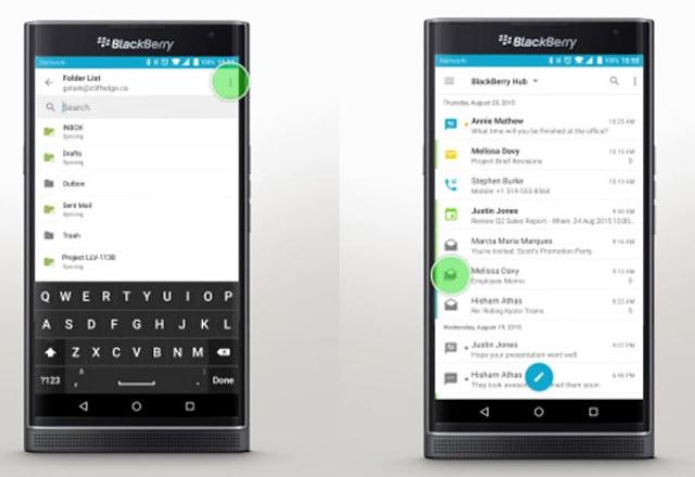 BlackBerry пуска своя популярен органайзер BlackBerry Hub за Android