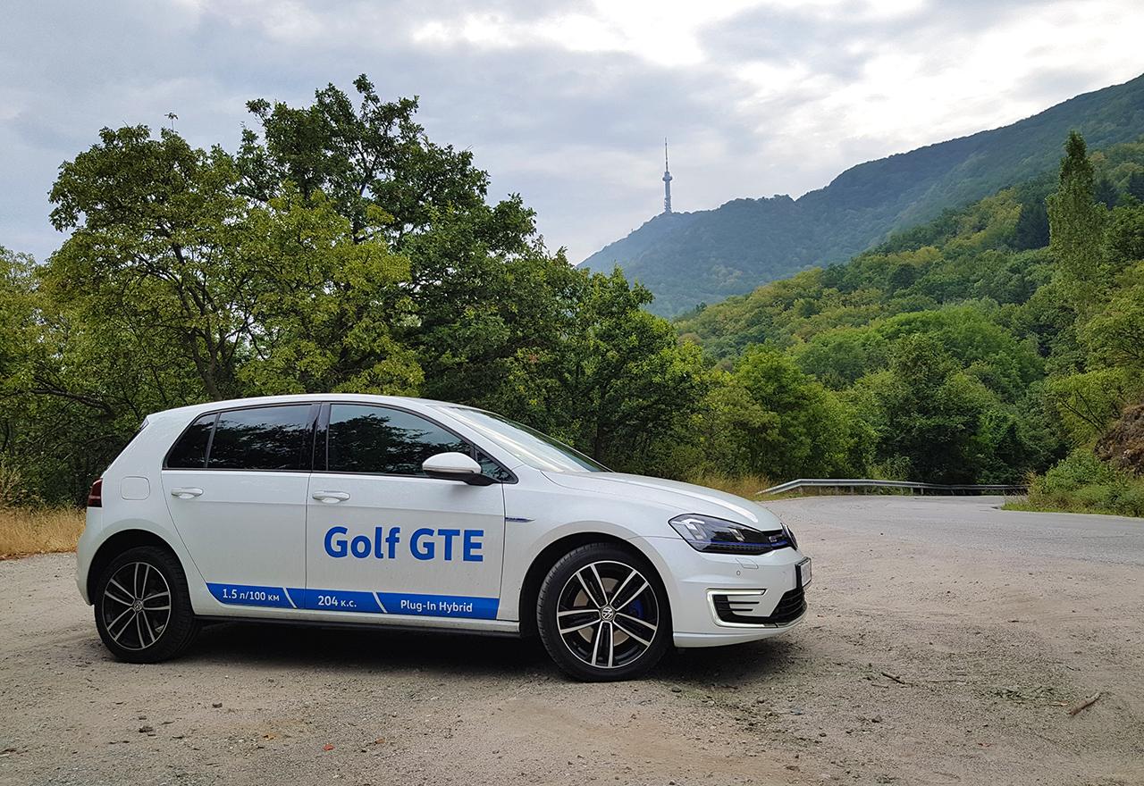 Тест драйв: Volkswagen Golf GTE, или два свята в синхрон