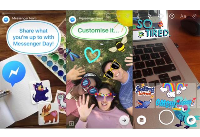 Messenger Day е най-новият ход на Facebook в копирането на Snapchat
