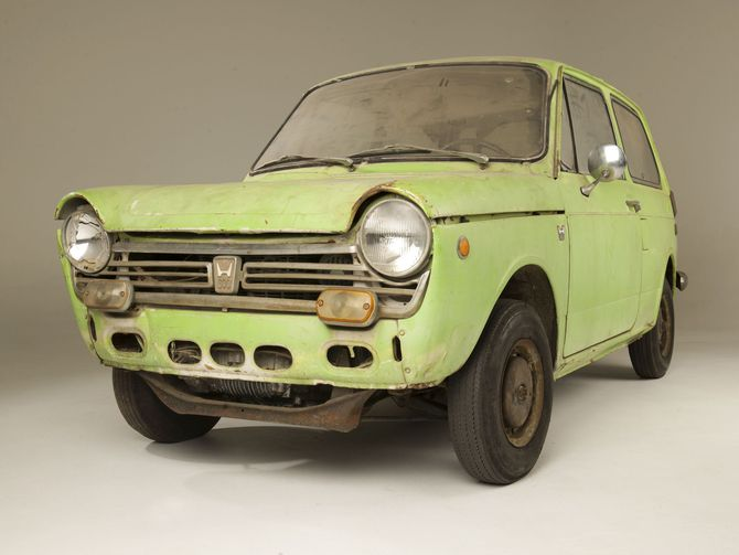 Реставрираната първа Honda в САЩ е гледка, която си заслужава