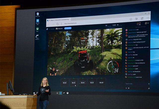 Microsoft ще предостави услуга за живи излъчвания на игри с Windows 10 Creators Update