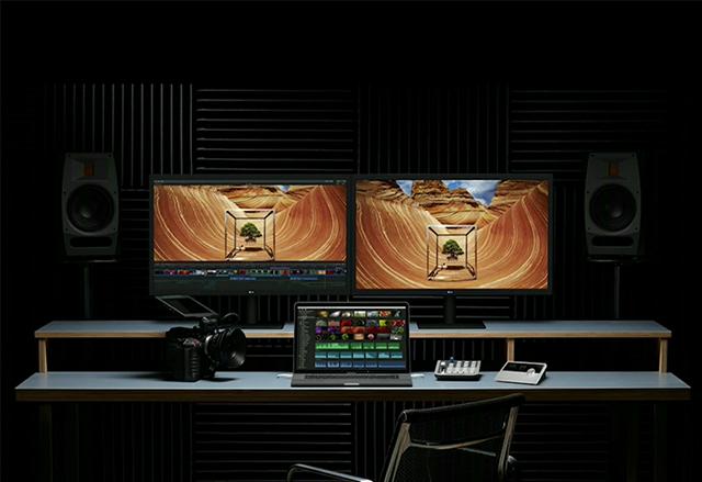 Новият 27-инчов 5K екран на LG е перфектен за работа с новия MacBook Pro на Apple