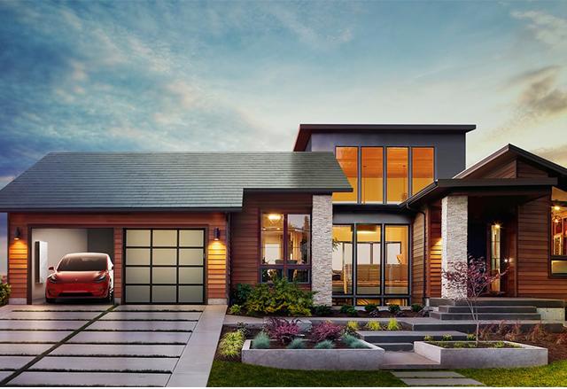 Tesla представи ново поколение соларен покрив и батерия Powerwall 2