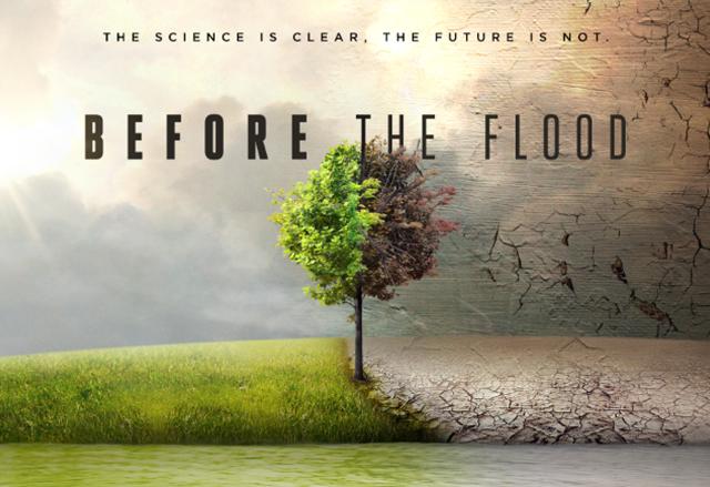 Документалният филм Before the Flood на National Geographic беше пуснат в YouTube и Twitter