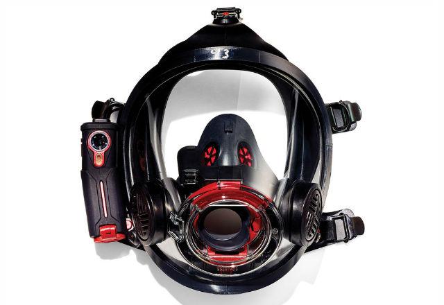 Специален шлем за пожарникари предлага множество функции