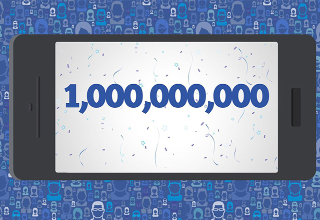 Facebook мина бройката от 1 милиард мобилни потребители месечно през Q3 на 2016 г.