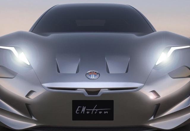 Легендарен автодизайнер показа новия си луксозен електрически автомобил EMotion