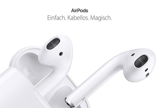Apple ще пусне в продажба безжичните си слушалки AirPods на 17 ноември