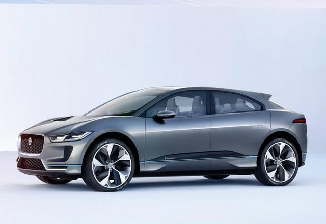 Jaguar демонстрира първата си концепция за електрическа кола