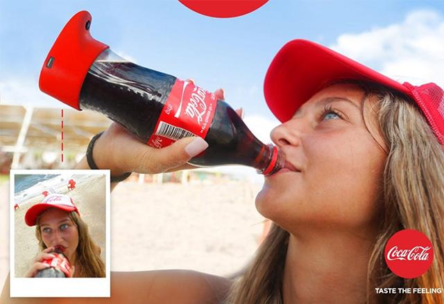 Кока-Кола създаде първата в света селфи бутилка