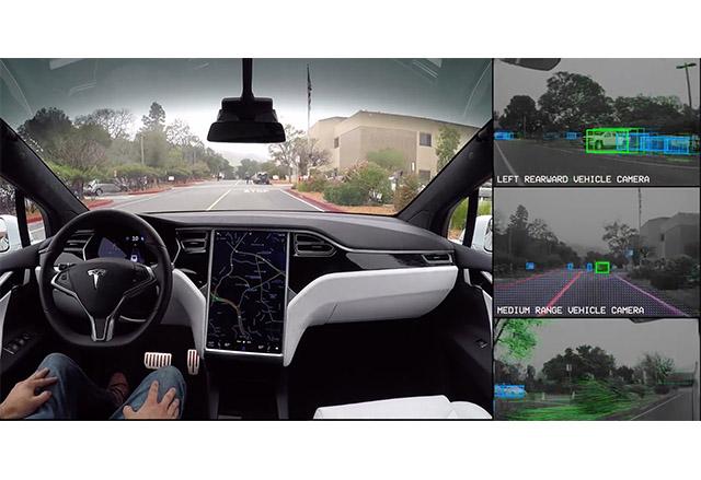 Tesla пусна демо видео, в което показва как автопилотът вижда околния свят