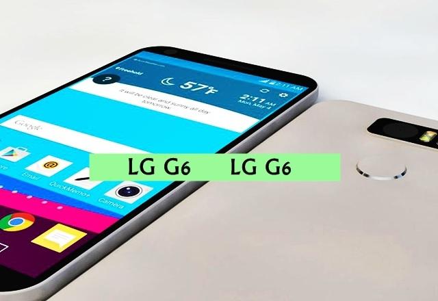 LG G6 може да разполага със скенер на зеницата