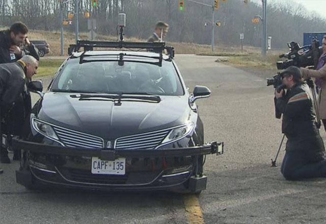 Първите тестове на самостоятелно шофиращи се автомобили в Канада са факт