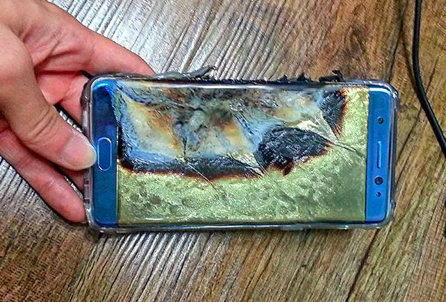 До края на годината Samsung ще разкрие защо избухваше Galaxy Note 7