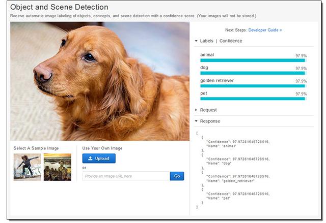 Amazon Rekognition е нов AI инструмент за разпознаване на изображения