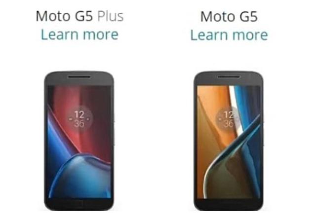 Изтекоха снимки и параметри на новите Motorola Moto G5 и G5 Plus