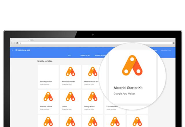 App Maker на Google е нов инструмент за създаване на смартфон приложения