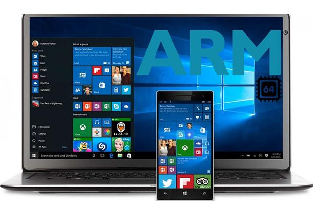 Десктоп приложенията за Windows 10 ще работят и на смартфони с ARM процесори