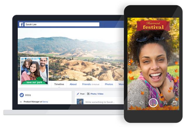 Facebook скоро ще ви позволи да слагате рамки на своите профилни снимки
