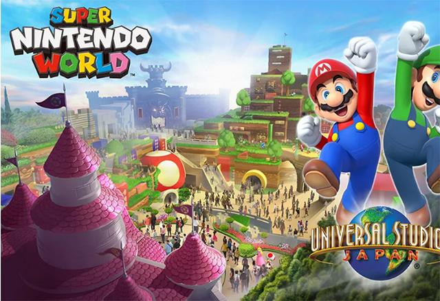 В Universal Studios в Осака, Япония, ще се изгради първият тематичен Super Nintendo World