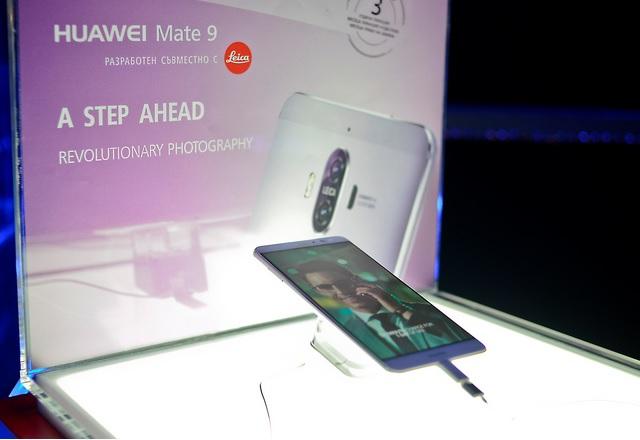 Huawei Mate 9 официално и у нас, изкушава с голям екран и двойна камера Leica