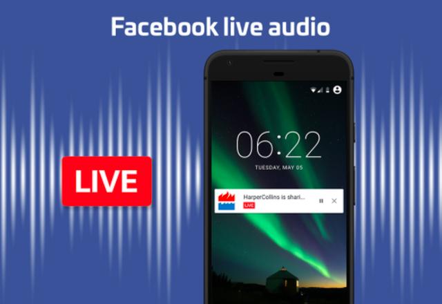 Facebook представи официално опцията за стрийминг на аудио