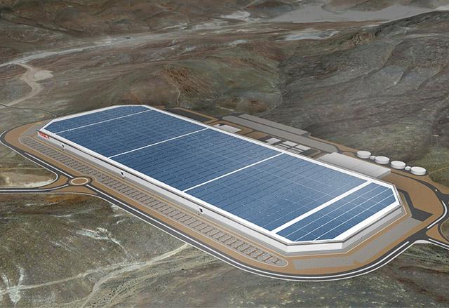 Вижте докъде е стигнал строежът на гигафабриката на Tesla Motors