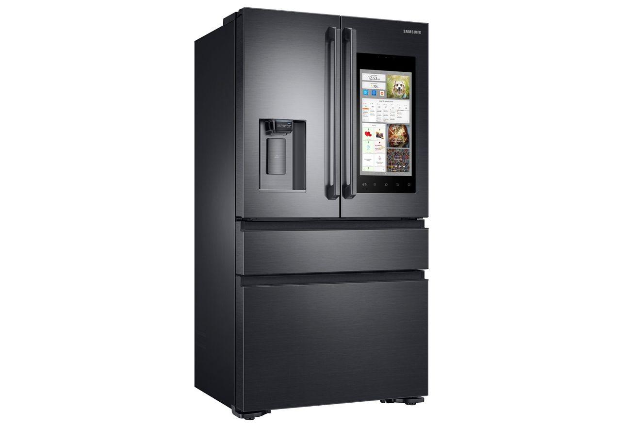 Samsung представи новия си говорещ хладилник-таблет и смарт система за пране