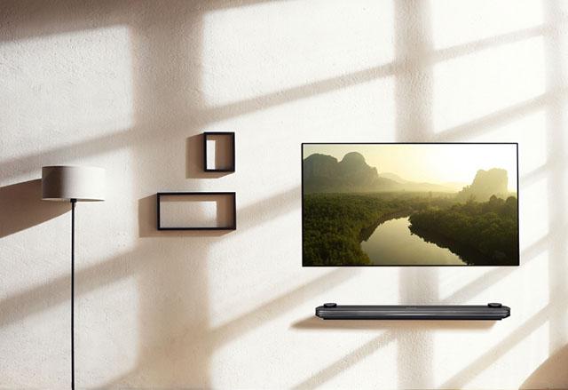 CES 2017: LG Signature OLED TV W изпраща дизайна на телевизорите в ново измерение