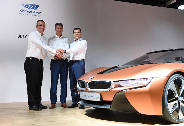 BMW, Intel и MobilEye ще разработят мащабируема архитектура за самоуправляващи се коли