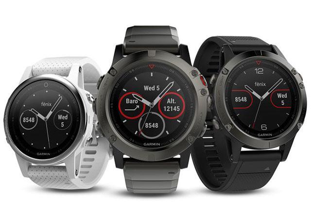 CES 2017: Garmin с нови версии на умните си часовници с вграден GPS - Fenix 5, 5s и 5x