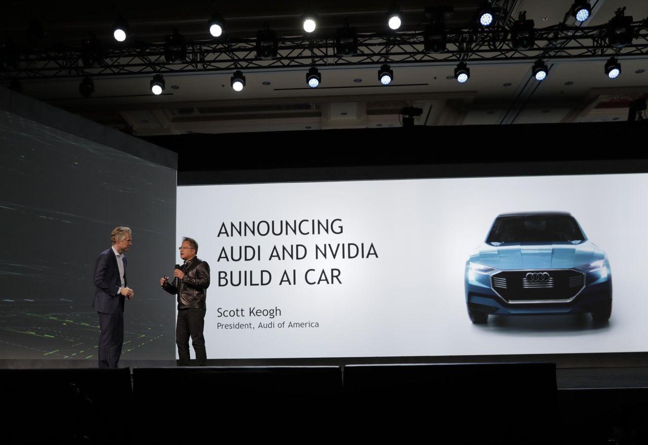 CES 2017: походът на Nvidia към огромния автомобилен бизнес изглежда обещаващо