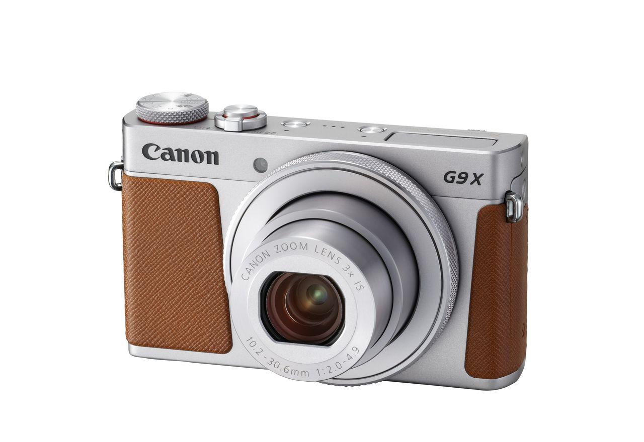 Canon представи мъника PowerShot G9 X Mark II с по-добра стабилизация