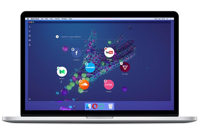 Opera показа как би изглеждало бъдещето на уеб браузърите със своя проект Opera Neon
