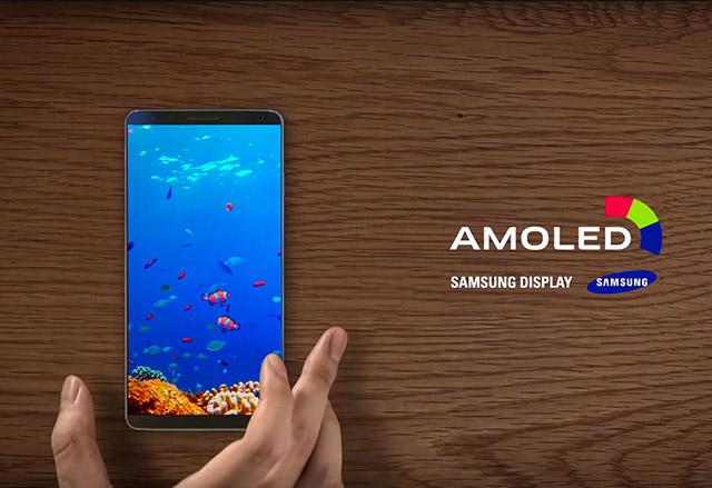 Samsung Display показа новото си поколение Amoled екрани и част от Galaxy S8?