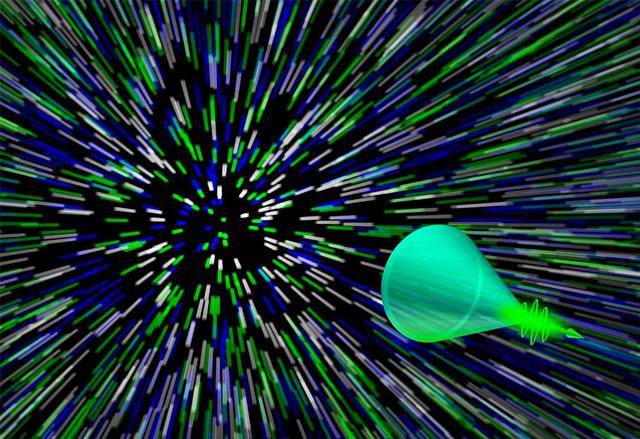 Учени успяха да заснемат светлинния ефект Sonic Boom с ултрабърза камера