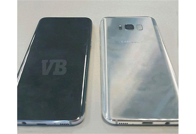 Нова изтекла снимка показва предния и задния панел на Samsung Galaxy S8